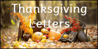 Church Thanksgiving Letters