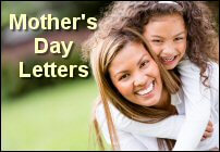 Mother's Day Church Letters