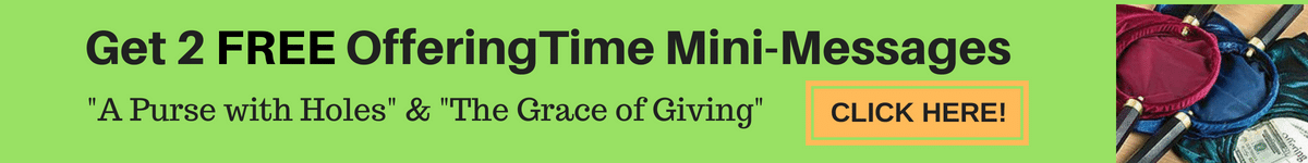 Offering Time Messages with Powerpoint - Beat the Summer Giving Slump!