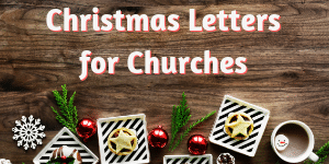 Church Christmas Letters