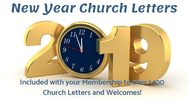 New Year Church Letters
