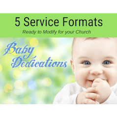 5 Baby Dedication Services to Modify