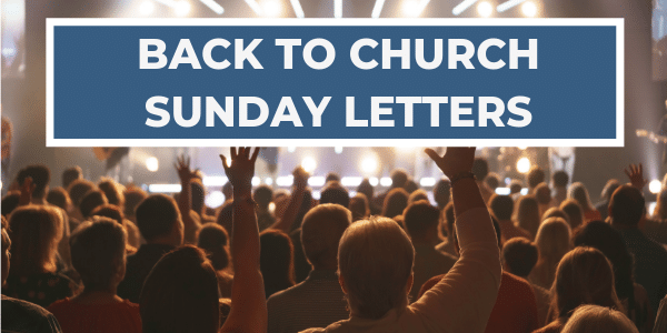 Back to Church Sunday Letters