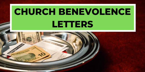 Church Benevolence Letters