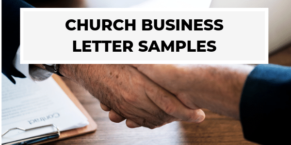 Church Business Letters