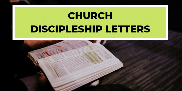 Church Discipleship Letters