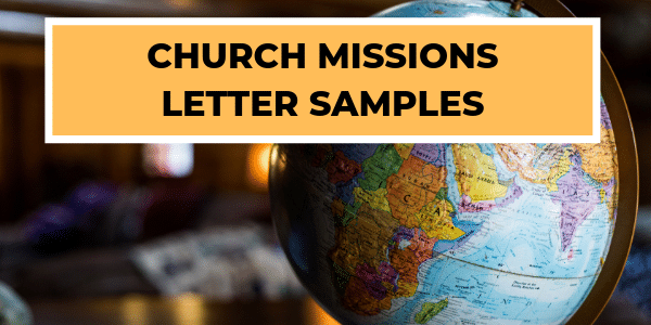 Church Missions Letters