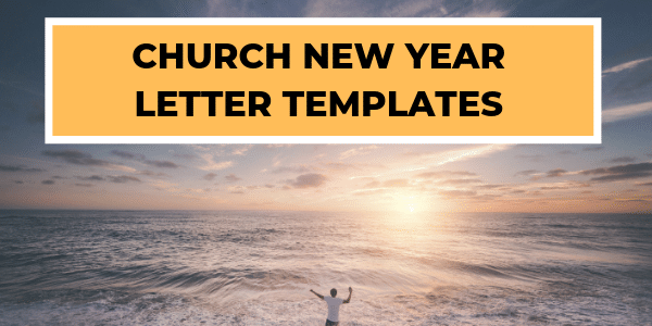 Church New Year Letters