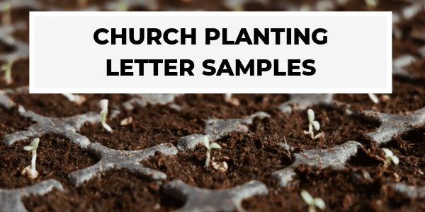 Church Planting Letters