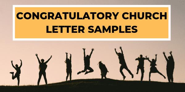 Congratulatory Church Letters
