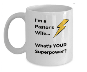 Great gift idea for the Pastor's Wife!