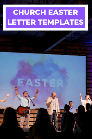 Church Easter Letter Templates