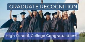 Graduate Recognition Letters