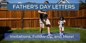 Father's Day Church Letters