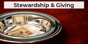 Stewardship Tithing and Offering Letters