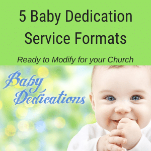 Baby Dedication Services