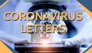 Coronavirus Themed Church Letters