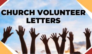 Church Volunteer Letters