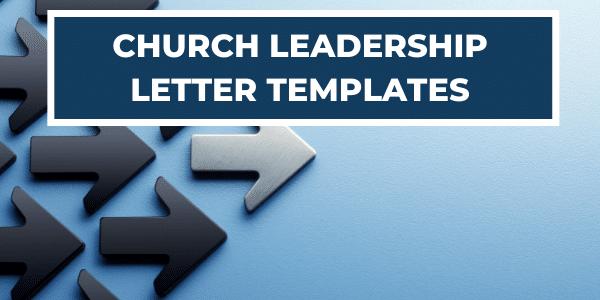 church-leadership-letter-templates